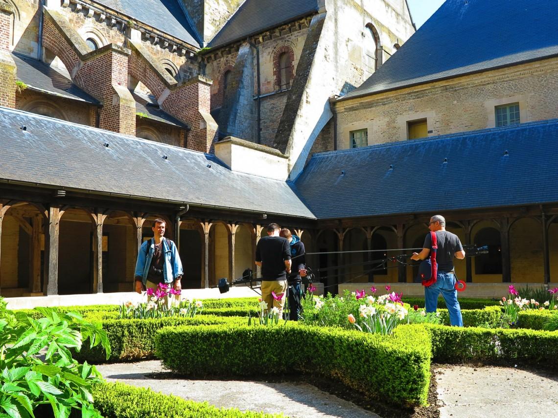Tournage en Normandie