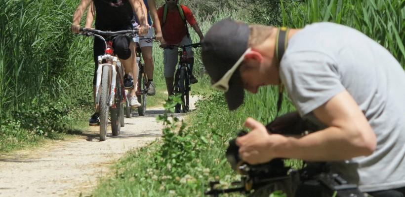 L'équipe Mir Photo en tournage dans les Alpes de Haute-Provence