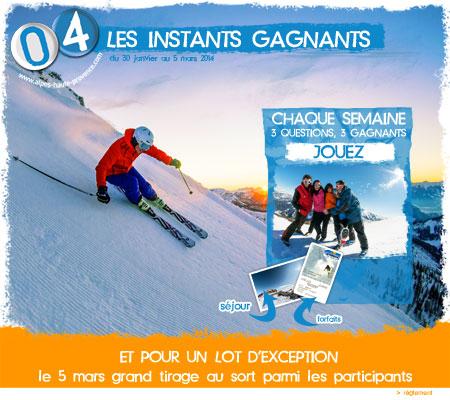 Alpes de Haute-Provence, instants gagnants