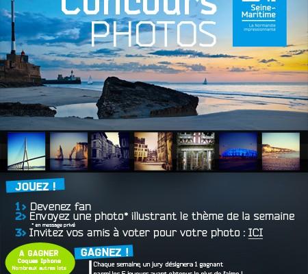 Seine-Maritime, concours photos Instagram / Facebook