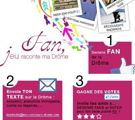 Drôme, racontez la Drôme…