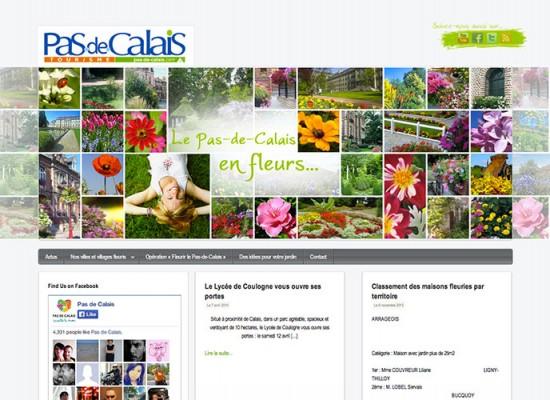 Fleurissement dans le Pas-de-Calais