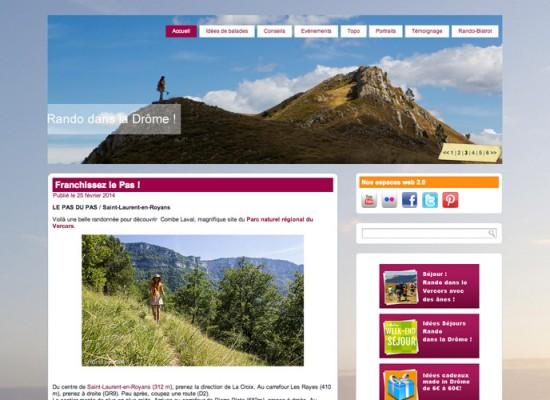 Randonnées dans la Drôme