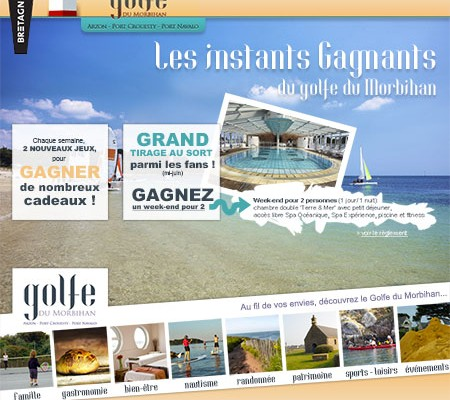 Golfe du Morbihan, instants gagnants