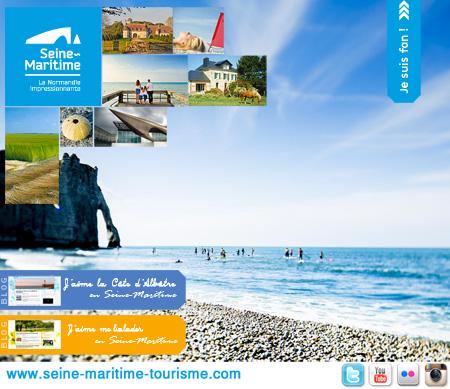 Page Facebook, Seine-Maritime