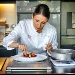 Reportage Mir Photo - Anne Sophie Pic en cuisine